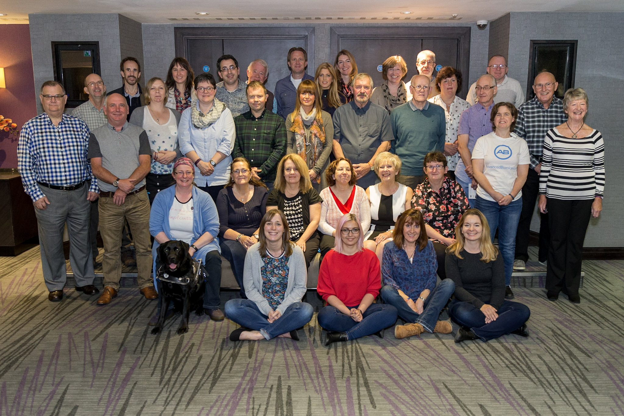 Group of people from Bionic Ear Association